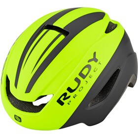 Rudy Project Volantis Cykelhjelm, yellow fluo/black matte